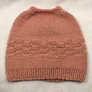 🌟SALE🌟 Handmade pony tail hat